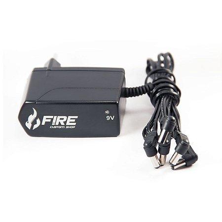 Fonte Fire Custom Shop Power 5x 9V Chaveada BI-Volt