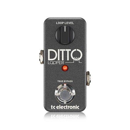 Pedal de Guitarra TC Electronic Ditto Looper Analógico 5 min