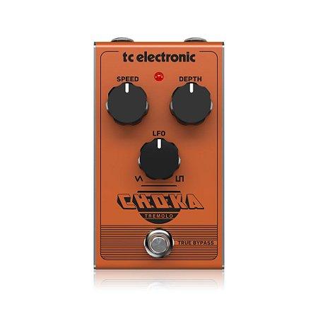 Pedal de Guitarra TC Electronic Choka Tremolo