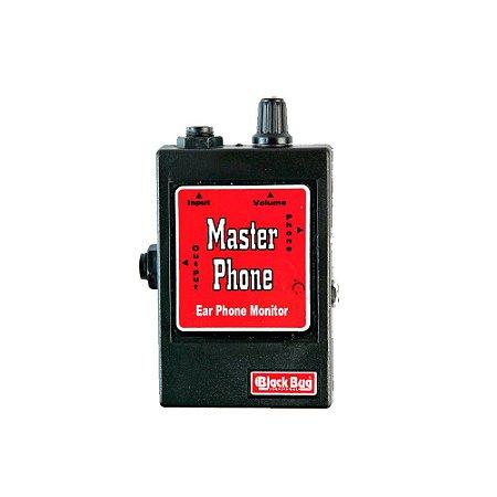 Amplificador para Fone De Ouvido Black Bug MP Master Phone