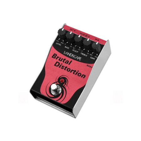 Pedal de Guitarra Landscape BRD2 Brutal Distortion