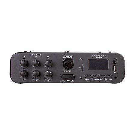 Amplificador Compacto Para Som Nca SA100 BT ST Optical 60 W