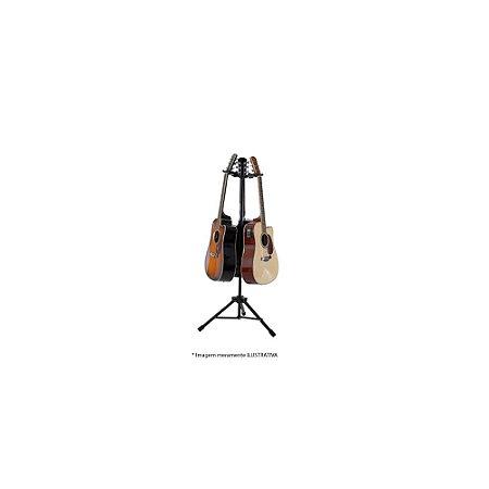 Suporte para 3 Instrumentos de cordas Ibox AGSTRIO Preto