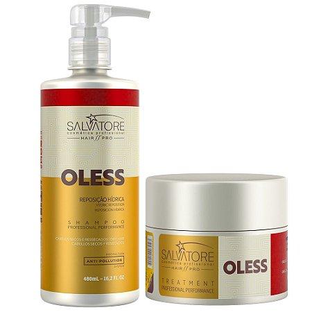 Hair Pró Kit Oless Shampoo 480ml+Condicionador 250ml
