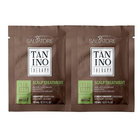 Tanino Therapy Kit Viagem Scalp Treatment Sachet Shampoo 15ml+Condicionador 15ml
