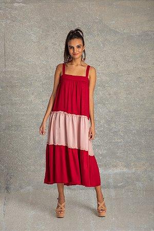 Vestido Midi Color Affinity