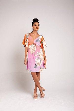 Vestido Curto - Sonho de Flor