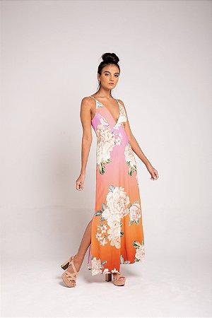 Vestido Midi - Sonho de Flor