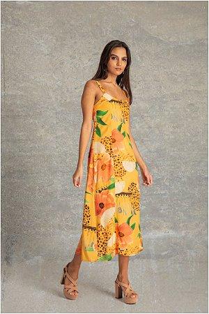 Vestido Mídi Alça - Bananita
