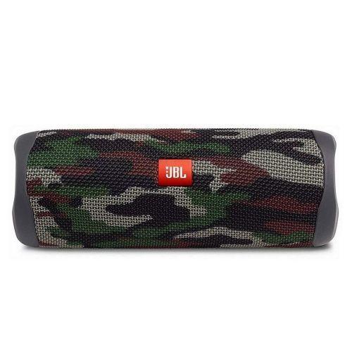 Caixa de Som JBL Flip 5, Bluetooth, 20W RMS, à Prova D´Água, Camuflada - JBLFLIP5SQUADAM