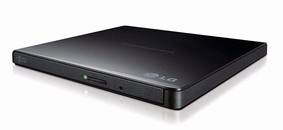 Leitor / Gravador externo LG USB - CD/DVD