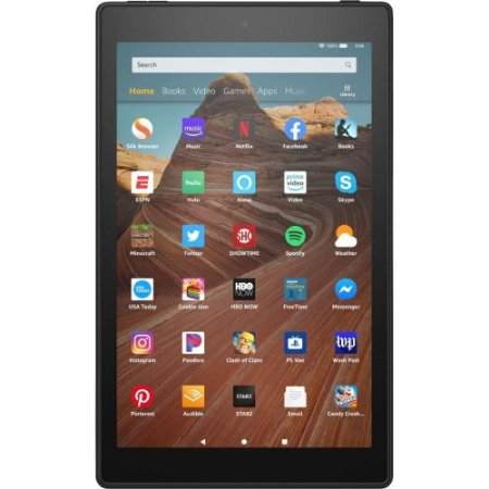 "Tablet Amazon Fire HD 2019 10.1"" 32GB Preto"