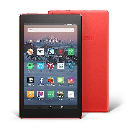 Tablet Amazon Fire Hd8 32Gb Wifi Com Alexa - Vermelho