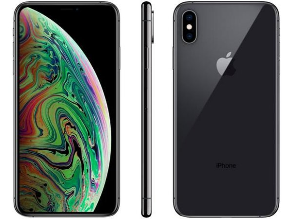 iPhone XS Max Apple 64GB Cinza Espacial