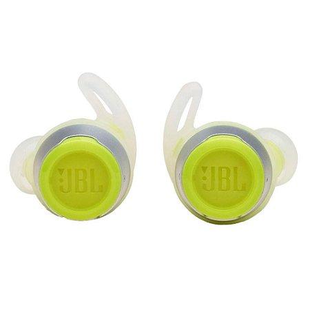Fone de Ouvido Esportivo Bluetooth JBL Reflect Flow, com Microfone, Recarregável, À Prova d´Água, Verde - JBLREFFLOWGRN