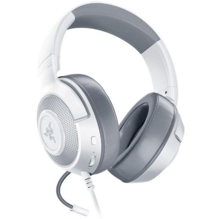 Headset Gamer Razer Kraken Multi Platform, Drivers 50mm, Mercury White - RZ04-02830400-R3M1