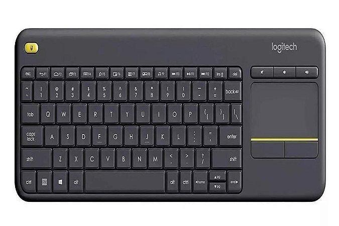 Teclado Sem Fio Touch K400 Plus