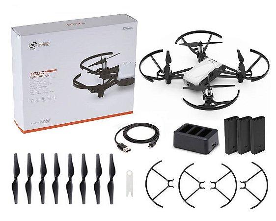 Drone Dji Tello Boost Combo Drone Com Câmera Hd Branco Anatel