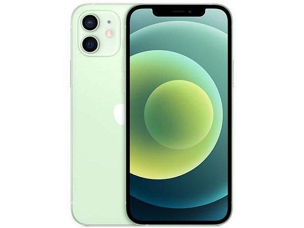 "iPhone 12 Apple (64GB) Verde tela 6,1"" Câmera dupla 12MP iOS"