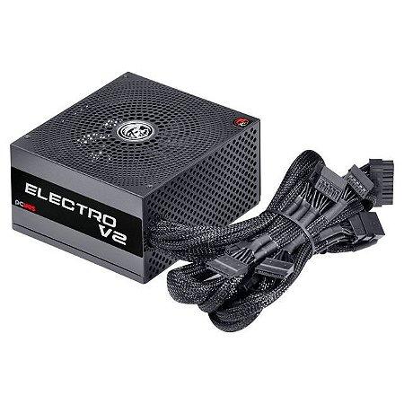 Fonte PCYes Electro V2 500W, 80 Plus White - ELV2WHPTO500W