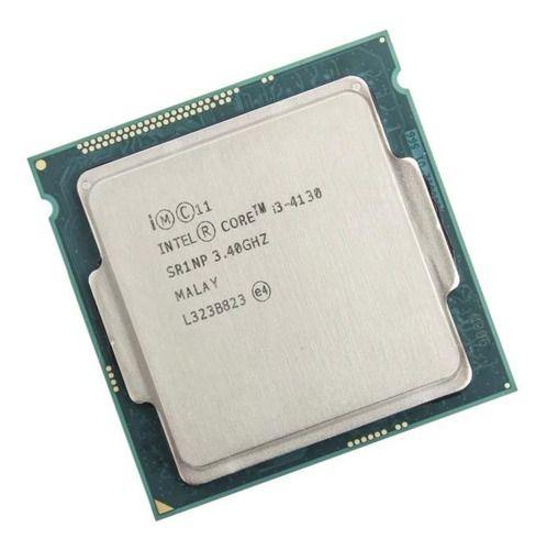 Processador gamer Intel Core i3-4130 CM8064601483615 de 2 núcleos e 3.4GHz de frequência com gráfica integrada