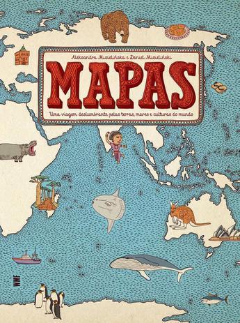 MAPAS - Capa Dura - 9788546903030
