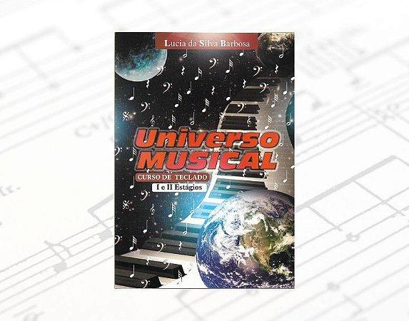 Método Universo Musical - Curso de Teclado I e II Estágios