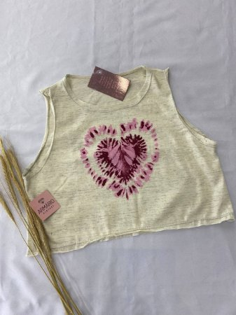 Tshirt Cropped Heart
