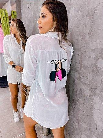 Camisa Longa Minnie - Chemise