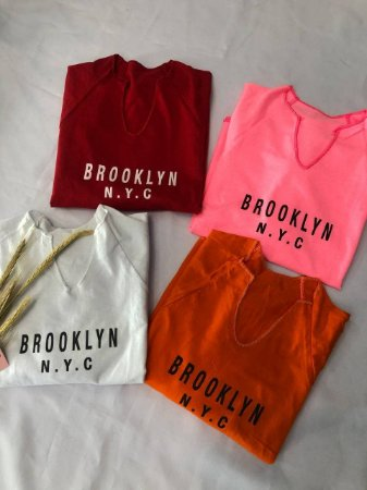 Tshirt Cropped Brooklyn