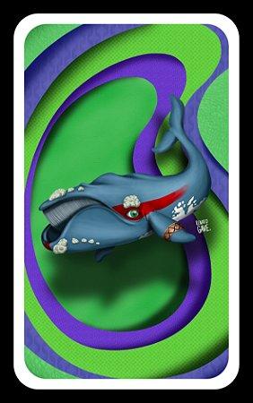 Quadro Baleia franca - Arte original (produto limitado)
