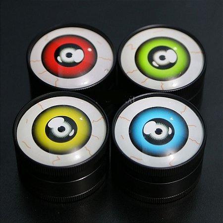 Dichavador De Metal Grande Preto - Olho (sortido)