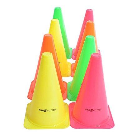 Kit Cones c/ 8 Peças  Proaction