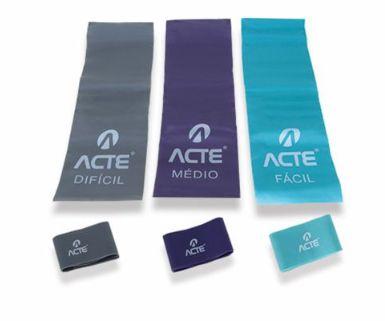 Kit Bands c/ 6 Intensidades  Acte