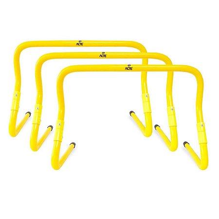 Kit de 3 Barreiras de Salto Ajustável  Acte