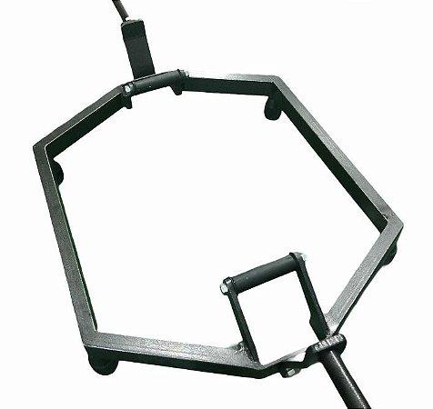 Barra Hexagonal  Fit Work