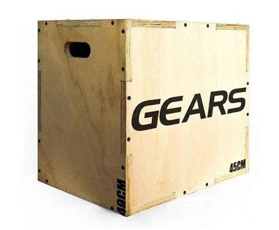 Caixa de Salto Plyo Box Cross Fit  Gears
