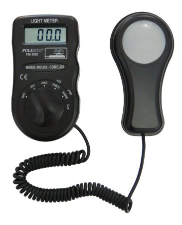 Luxímetro Digital 3 1/2 Díg. - PM-1100 - Polimed