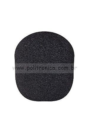 Espuma (Protetor) para Microfone SM-58/Bola - PL6 - Preta - Lika