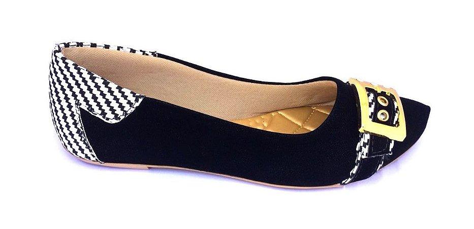 9592f1955 sapatilhas no atacado preto com fivela - Sapatilhas Atacado | Preço ...