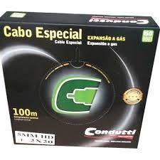 Cabo Coaxial Bipolar 5mm 100m Condutti