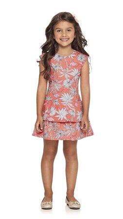 Vestido | Quimby - Flamingo Coral