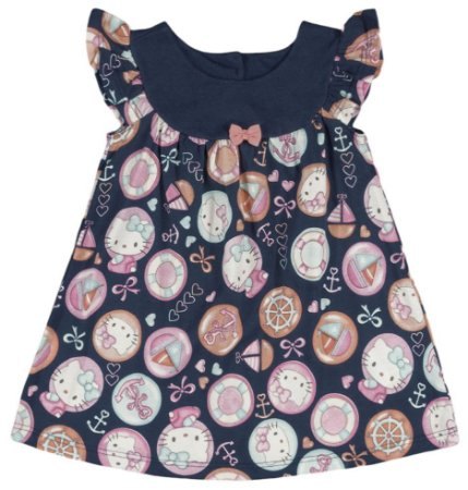 Vestido | Hello Kitty -  Navy