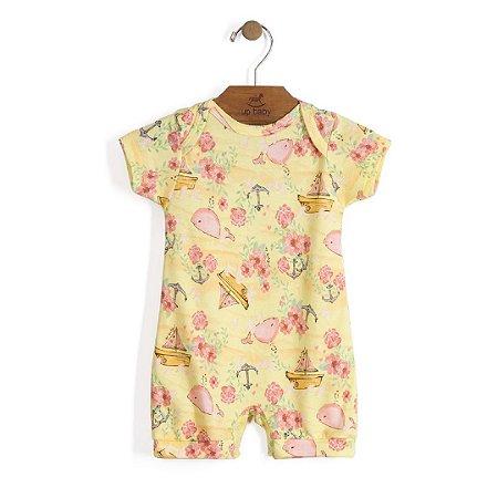 Macaquinho | Up Baby - Baleia Amarela