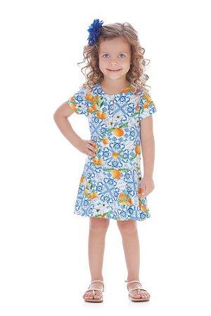 Vestido | Up Baby - Tangerina