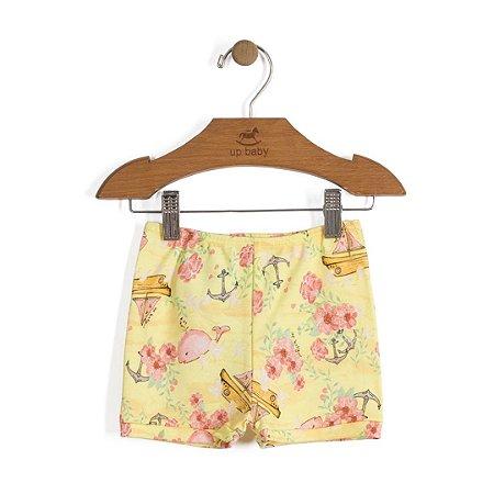 Shorts - Baleia Amarela