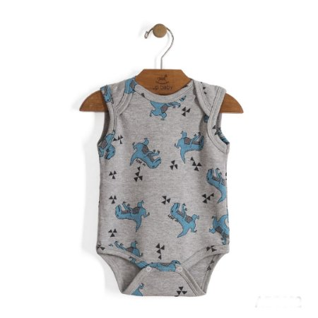 Body Regatinha | Up Baby - Dinos Blue
