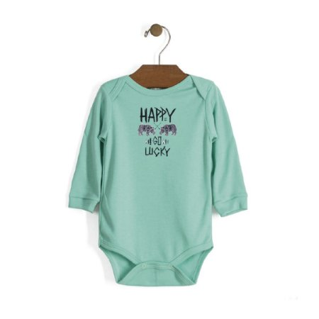 Body Manga Longa | Up Baby - Happy