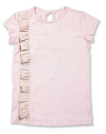 Vestido T-shirt - Rosê