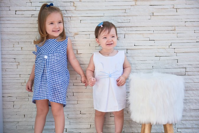 Vestido Little Bunny - Off White